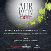Ahrwein des Jahres 2019