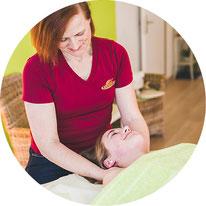 Klassische, medizinische Massage in der Naturheilpraxis Moni Näf in Muri, Freiamt