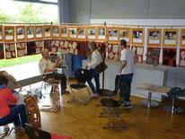 Schafrassen die in Deutschland gehalten werden, Ausstellung der Handspinngilde