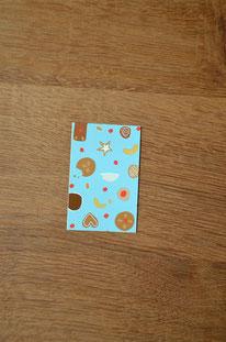 Minikarte/Anhänger Plätzchen • 10er-Päckchen