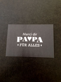 Danke Papa • 1,90 €