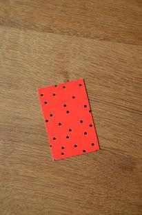 Minikarte/Anhänger Goldene Sternchen • 10er-Päckchen
