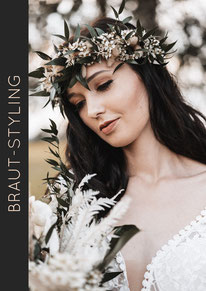 Braut-Styling-Vintage
