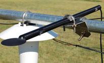 Sonde de rayonnement gel - mesure météo - Agralis - Agen