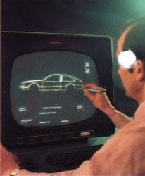 Computerkonstruktionsprogrammkurve