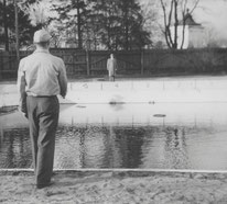 Tarkkusheittoa vuonna 1951