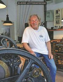 Schriftsetzer Achim Wittrin