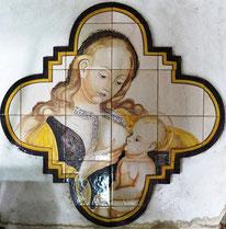 Maria mit dem Kinde, Art.-Nr.:HL-M006