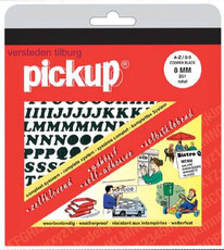 pickup plakletters plakcijfers zelfklevende belettering in mapjes versteden tilburg online bestellen kopen
