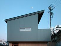 惣社の家(松本市)・コートハウス・中庭のある家・都市型住宅・長野県松本市の建築家