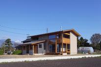 島立の家(松本市)薪ストーブ・長野県