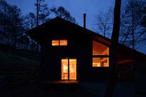 森の中の家(塩尻市塩嶺高原)別荘・薪ストーブ