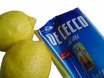 レモンとパスタ