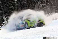 Marcus Grönholm & Timo Rautiainen, Ford Focus WRC, Rally Sweden 2007