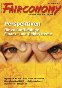 Fairconomy Magazin, seit 2009, Gesamtgestaltung Christina v. Puttkamer