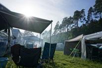 Regenbogenfamilien Camping; (C)Birgit Brockerhoff