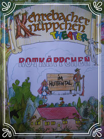 Plakat, handgezeichnet von Thomas Kirsch
