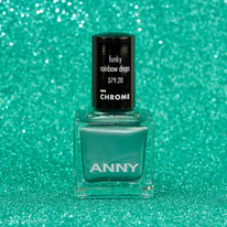 ANNY • It's all about Chrome Collection • funky rainbow drops