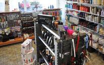 produits et matériels de coiffure