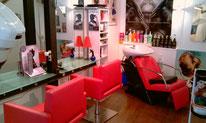 Equipements d'atelier de coiffure