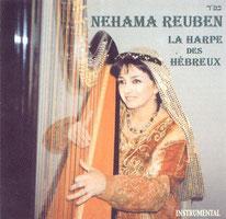 "Nehama REUBEN harpe solo CD ""la harpe des Hebreux"" 2001 www.fnac.com"