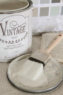 Vintage Paint murale de Jeanne d'Arc living - couleur  Soft sand