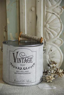 Vintage Paint murale de Jeanne d'Arc living - couleur Antique cream