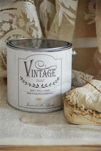 Vintage Paint murale de Jeanne d'Arc living - couleur Vintage cream