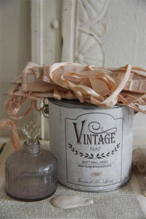 Vintage Paint murale de Jeanne d'Arc living - couleur  Antique rose
