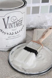 Vintage Paint murale de Jeanne d'Arc living - couleur Pearl grey
