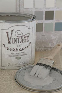 Vintage Paint murale de Jeanne d'Arc living - couleur  Warm grey