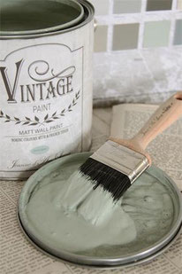 Vintage Paint murale de Jeanne d'Arc living - couleur Dusty grey