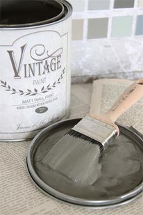Vintage Paint murale de Jeanne d'Arc living - couleur French grey