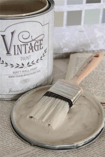 Vintage Paint murale de Jeanne d'Arc living - couleur French beige