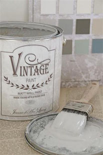Vintage Paint murale de Jeanne d'Arc living - couleur Stone grey