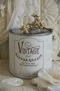 Vintage Paint murale de Jeanne d'Arc living - couleur  Natural white
