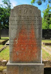 Besiedelter Gradstein, Jüdischer Friedhof, Hildesheim
