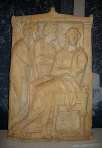 Grabrelief ca.360 v. Chr., Marmor