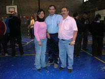 3º Clasificados Tripletas: Campeonato de Catalunya 2006 El Vendrell