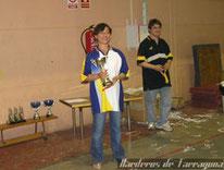 Subcampeona Individual: Campeonato de Catalunya 2007  Barcelona