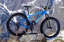 Fat bike compatible avec le kit moteur pédalier