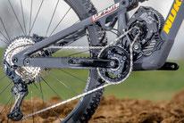 Kit de bicicleta de montaña eléctrica