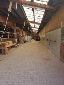 Vorraum & Stangenlager