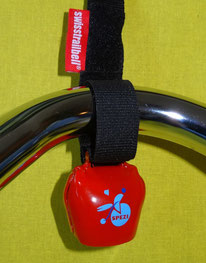 Auch die Mini-Spezi-Fahrradklingel im Kuhglockenformat gibt es unter www.spezialradmesse.de