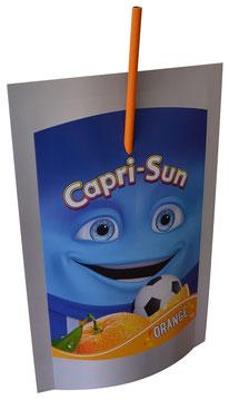 Spezialitäten Blockbeuteldummy Capri Sun