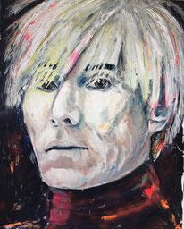 """Andy Warhol"" 160x140 Öl auf Leinwand"