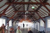 Cuxhaven: Dachkonstruktion der Hapag-Halle
