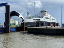 Greenferry I, Cuxhaven port.