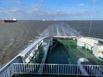 On board, Greenferry I.
