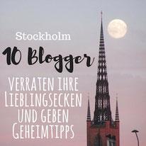 Stockholm Tipps: Blogger verraten Lieblingsecken
